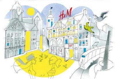 H&M pakt opening nieuwe winkel groots aan