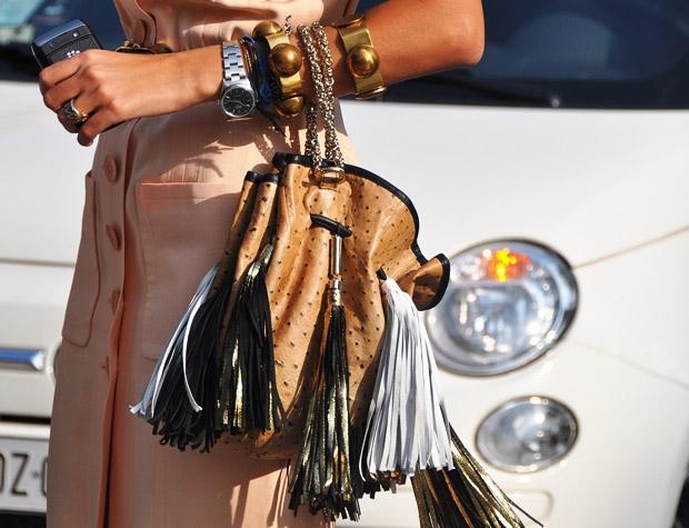 Verfraaide handtassen..Trend 2011