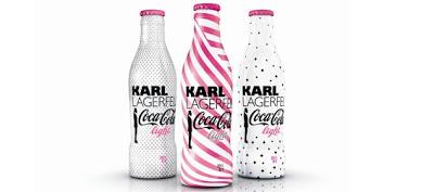 De ontwerpen zijn bekend: Karl Lagerfield's kunsten voor Coca Cola