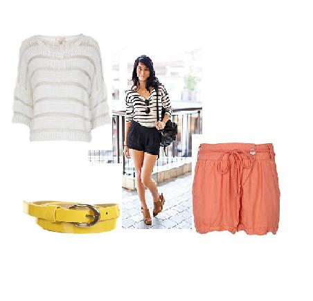 How to wear it: The short