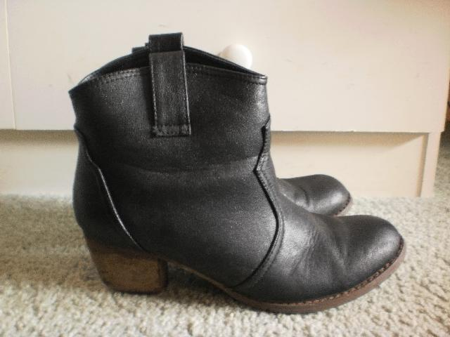 DIY : Glitter boots