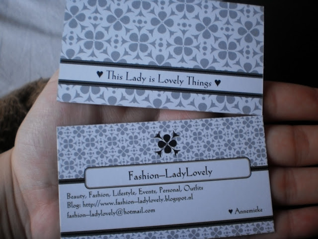 New In / Business Card / F-L-L