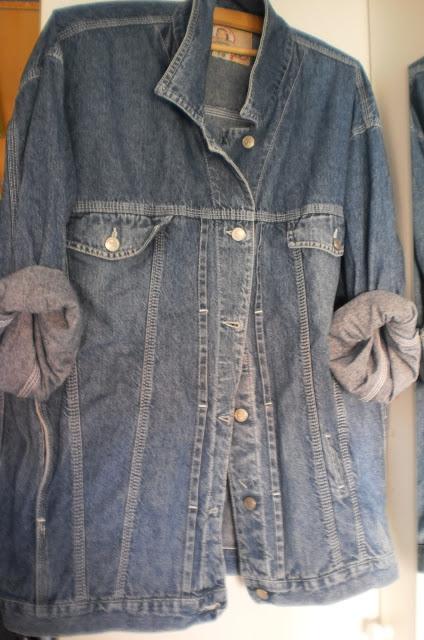 DIY : Customized your oversized denim jacket ideas