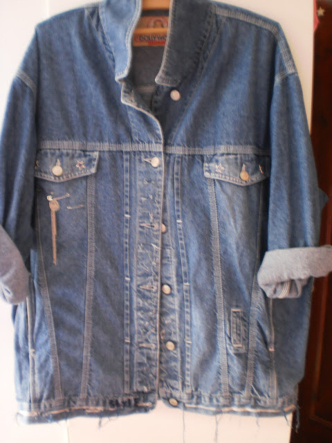 DIY: Oversized denim jacket