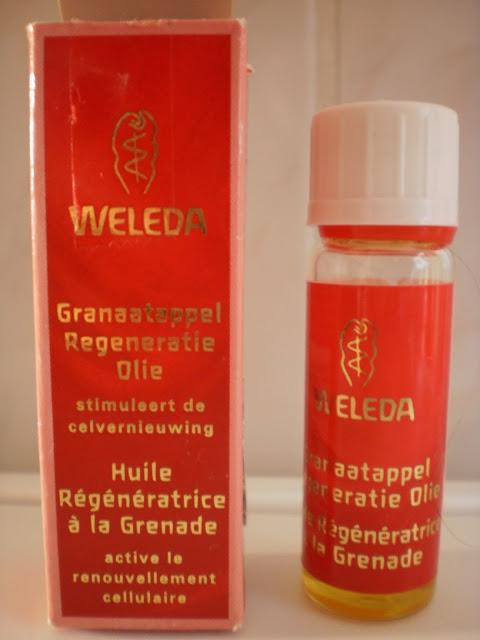 Weleda Granaatappel Regeneratie Olie