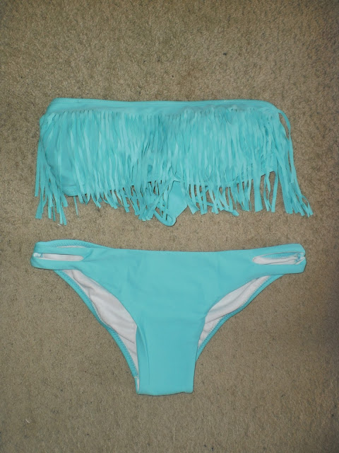 Fringle bikini