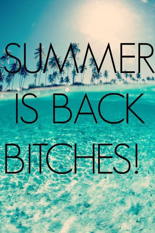 Het is zomer