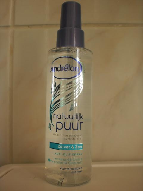 Andrélon Natuurlijk Puur Anti Klit Spray