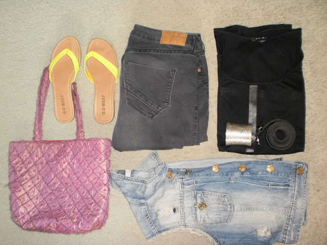 Outfit: BlackDenim