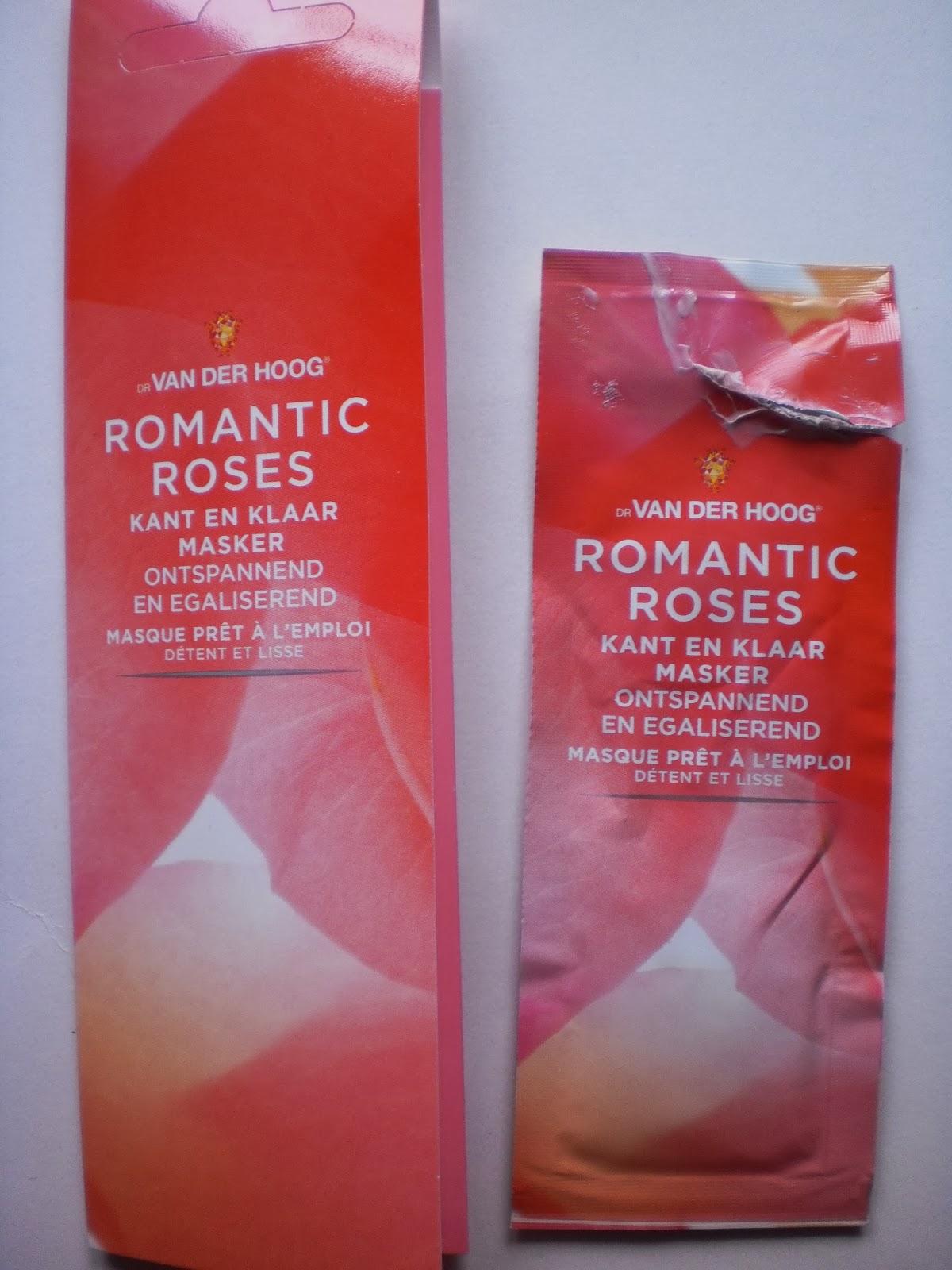 Dr Van Der Hoog Romantic Roses kant en klaar masker