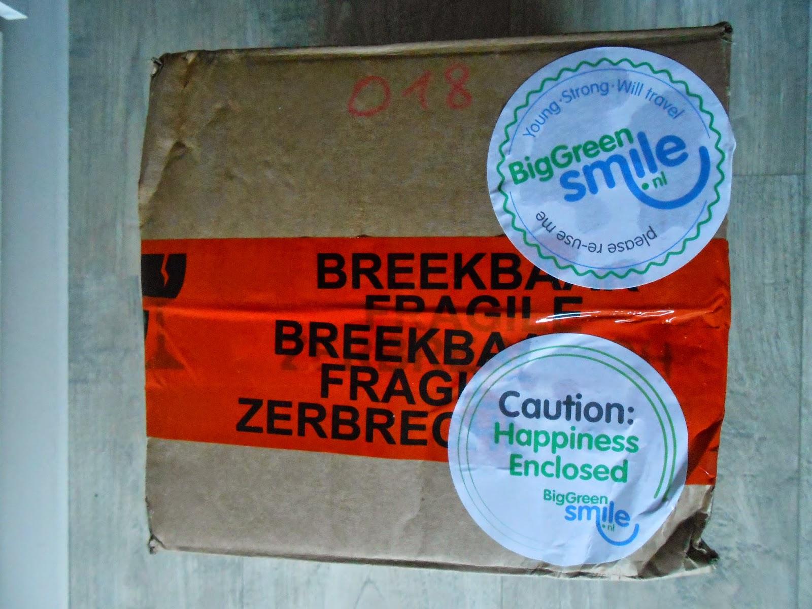New beautystuff | Green Big Smile.nl