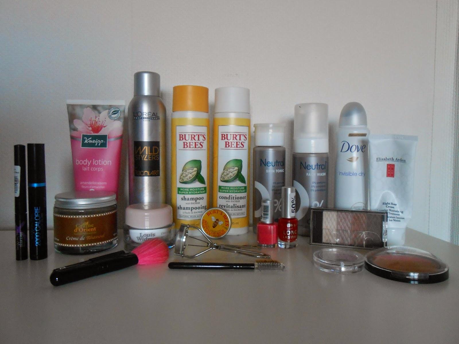 Favorieten beautyproducten van 2014