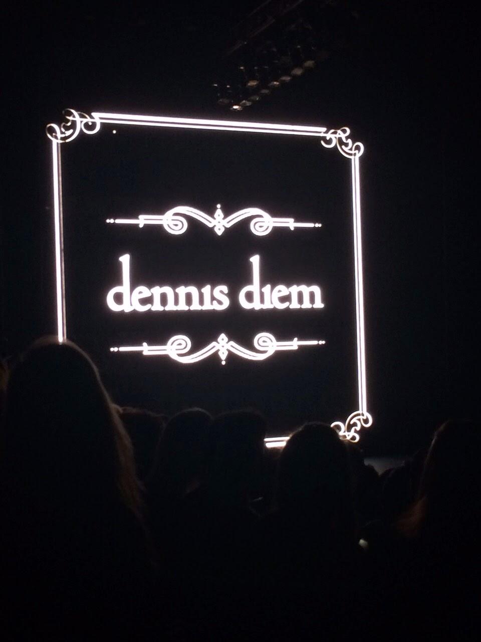 Dennis Diem at Mercedez-Benz Fashion Week Amsterdam 2015