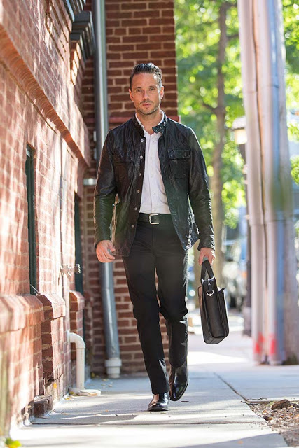 Menswear Friday: Leather men