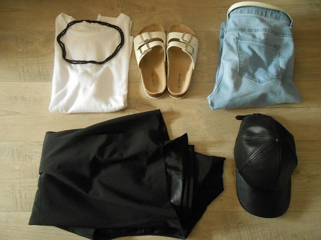 Sleeveless blazer outfit