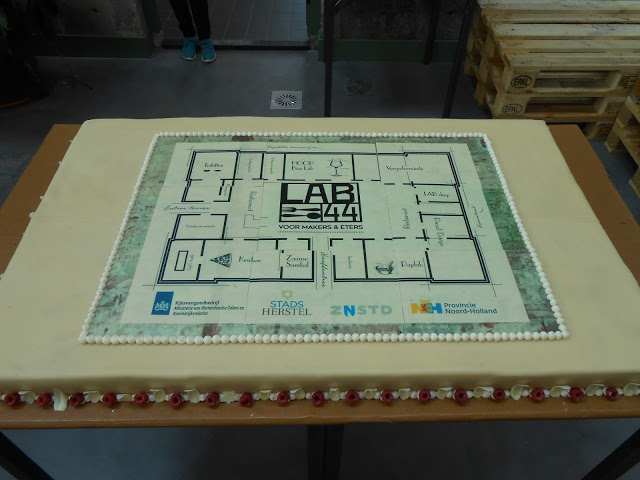 Lab-44 voor makers en eters