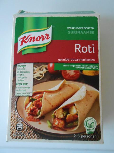 Knorr Surinaamse Roti