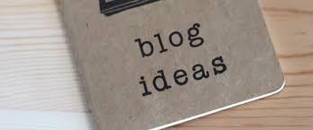 Onderwerpen voor je blog