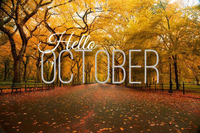 Hello october, Goodbye september