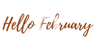 Hello February, Goodbye January