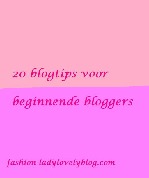 20 blogtips voor beginnende bloggers