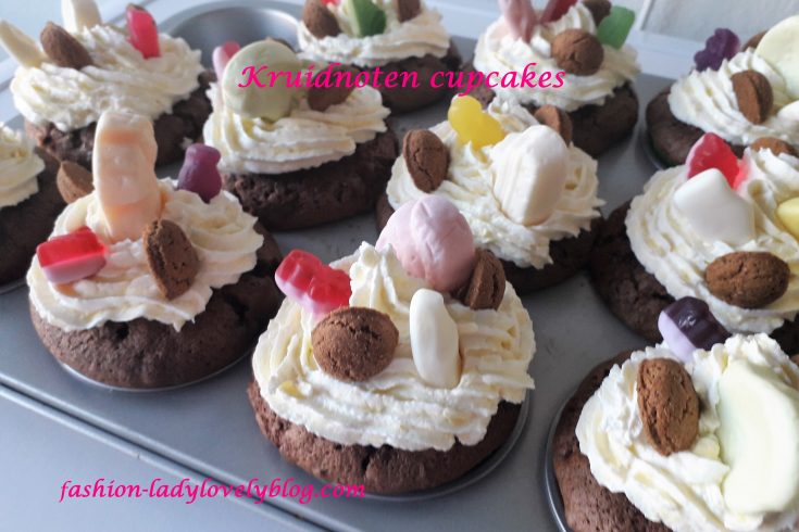 Kruidnoten cupcakes