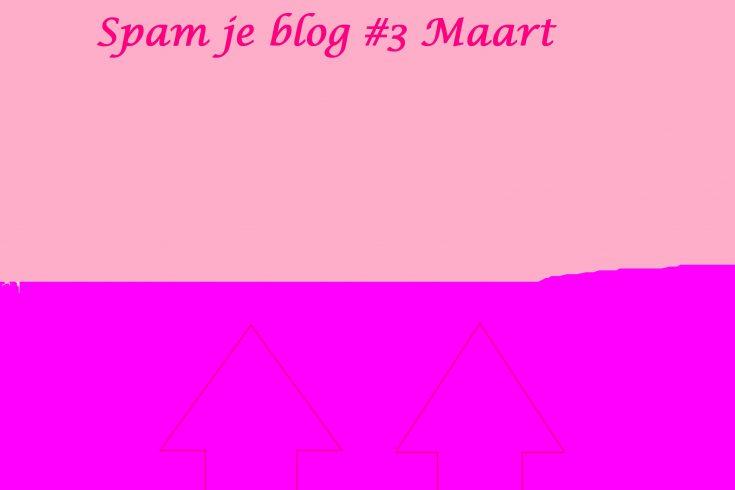 Spam je blog maart