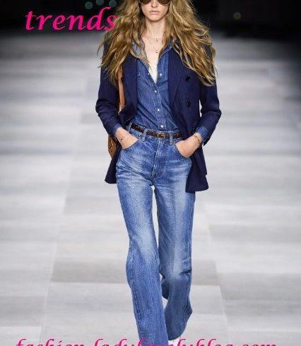 Celine denim trends