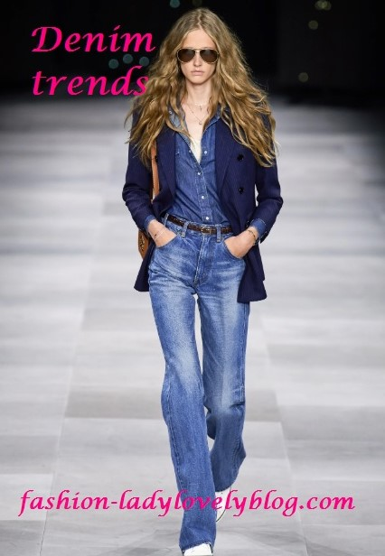 Celine denim trends
