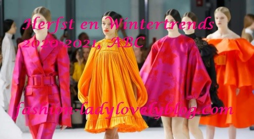 Herfst en wintertrends 2020-2021