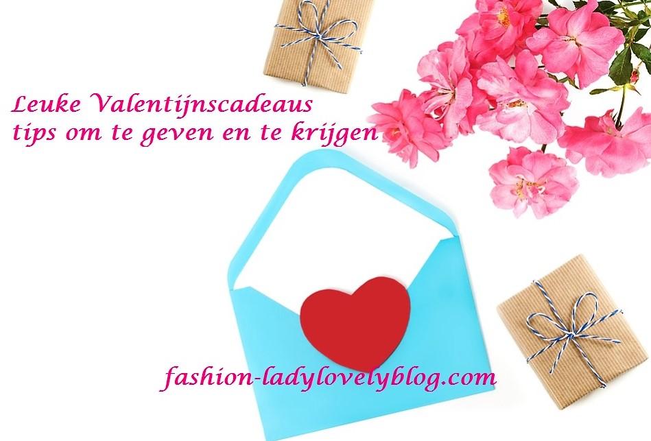 Leuke valentijnscadeaus