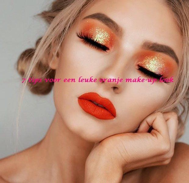 7 tips voor een leuke oranje make-up look