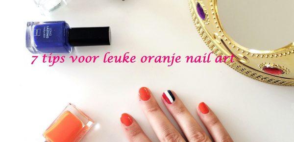 7 tips voor leuke oranje nail art