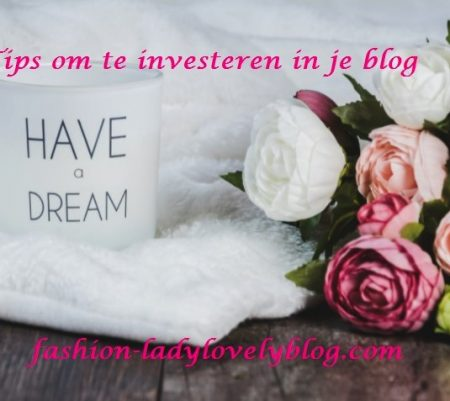 Met deze tips investeer je in je blog