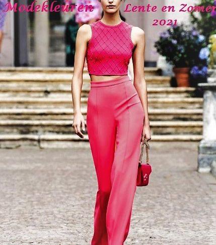 Dit zijn de nieuwste modekleuren voor lente en zomer 2021