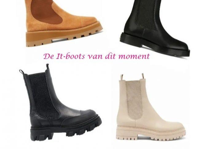 De IT-schoenen van dit moment: De hoge chunky chelsea boots