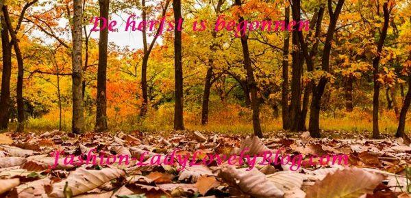 De herfst is weer begonnen